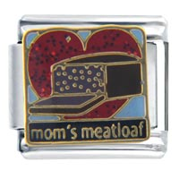 Italian Charms - mom' s meatloaf birthstones jewelry italian charm Image.