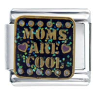 Italian Charms - moms cool celebration italian charms Image.