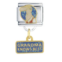 Italian Charms - grandma knows best dangle italian charms Image.