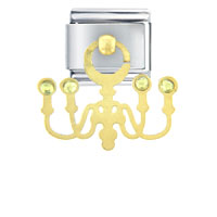 Italian Charms - chandelier italian charms dangle italian charm Image.