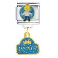 Italian Charms - prince gift italian charm dangle italian charm Image.