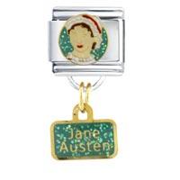 Italian Charms - jane austen work &  leisure italian charms dangle italian charm Image.