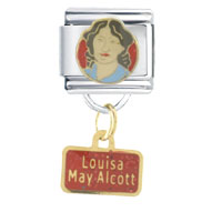 Italian Charms - louisa may emerald color alcott jewelry italian charm dangle italian charm Image.