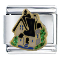 Italian Charms - little house italian charms Image.