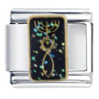 Italian Charms - messianic seal spring fashion jewelry italian charm Image.