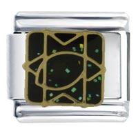 Italian Charms - bracelet messianic star celestial italian charm Image.