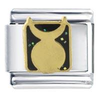 Italian Charms - horn moon symbol celestial italian charm bracelet Image.
