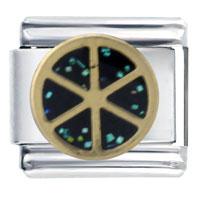Italian Charms - taranis wheel italian charms Image.