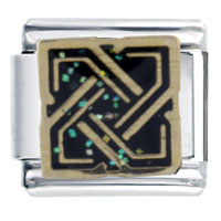 Italian Charms - bracelet king solomon' s knot christian italian charm Image.