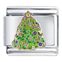 Italian Charms - festive christmas christmas tree gifts italian charm Image.
