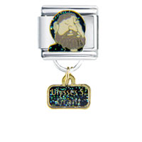 Italian Charms - president ulysses grant famous people italian charms dangle italian charm Image.