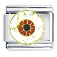 Italian Charms - eye ball holiday italian charm bracelet Image.
