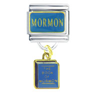 Italian Charms - mormon dangle march fashion jewelry italian charm dangle italian charm Image.