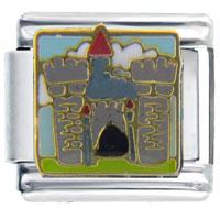 Italian Charms - castle italian charms Image.
