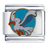 Italian Charms - seagull bird spring fashion jewelry italian charm Image.