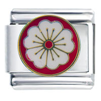 Italian Charms - apple blossom birthstones jewelry italian charm bracelet Image.