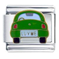 Italian Charms - luv love bug italian charms Image.