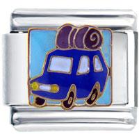 Italian Charms - family trip car italian charms Image.