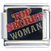 Italian Charms - top secret woman italian charms Image.
