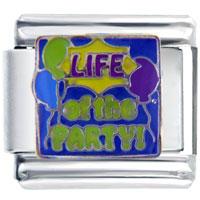 Italian Charms - life party gift italian charm Image.