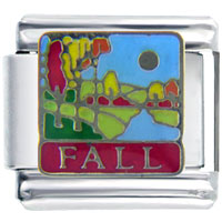 Italian Charms - season fall autumn fashion jewelry italian charm Image.