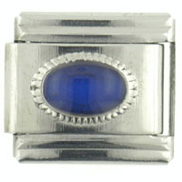 Italian Charms - mood oval small italian charm bracelet Image.