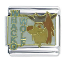 Italian Charms - bozo clown whacko wolf licensed italian charms Image.