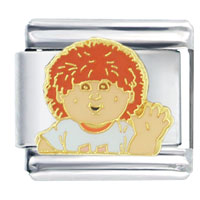Italian Charms - cabbage patch kids myles italian charms licensed italian charm Image.