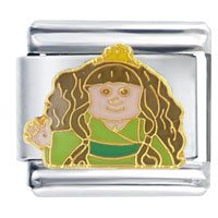 Italian Charms - cabbage patch kids princess italian charm bracelet licensed italian charm Image.