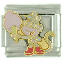 Italian Charms - dora explorer boots halloween candy italian charms christmas gift licensed italian charm Image.