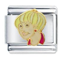 Italian Charms - deanna better worse gift italian charm licensed italian charm Image.