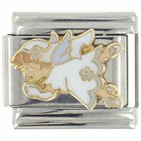 Italian Charms - enamel prayeries serena gift stainless steel italian charm link 9 mm licensed italian charm Image.