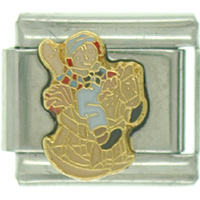 Italian Charms - raggedy ann andy rocking horse licensed italian charms Image.