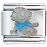 Italian Charms - rugrats tommy licensed italian charms Image.