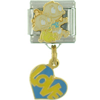 Italian Charms - rugrats heart italian charm bracelet Image.
