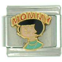 Italian Charms - the family circus mommy italian charms licensed italian charm Image.