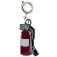 Teens & Kids Jewelry - fire extinguisher link charm clasp charm Image.