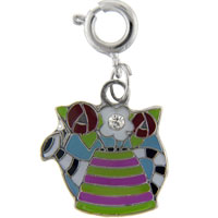 Teens & Kids Jewelry - watering can bag link dangle european beads fit all brands Image.