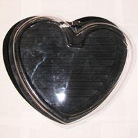 Italian Charms - italian charm bracelet black heart display italian charm Image.