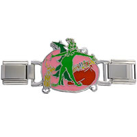 Italian Charms - grinch stealing christmas presents deluxe italian charms licensed italian charm Image.