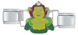Italian Charms - shrek licensed lovely lady fiona italian charms licensed italian charm Image.