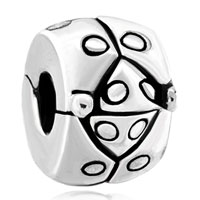 Charms Beads - stunning beetle clip lock round stopper jewelry beads charms bracelets fit all brands Image.