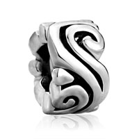 Charms Beads - tribal swirl spacer fit all brands beads charms bracelets Image.