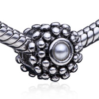 Charms Beads - round shaped tender sheep fit all brands beads charms bracelets Image.