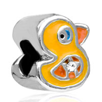 Charms Beads - funny duck fit all brands beads charms bracelets Image.