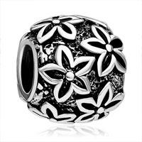 Charms Beads - beads charm bracelets round shaped poinsettia beads charm bracelets Image.