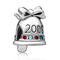 Charms Beads - christmas charms christmas charms bead 2008 christmas bell european charm bead Image.