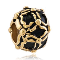 Charms Beads - beads charms bracelets golden and black beads charms bracelets Image.