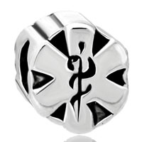 Charms Beads - emergency medical services star of life ems beads charms bracelets fit all brands Image.
