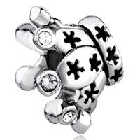 Swarovski Element Crystal Crown European Bead Charms Bracelets